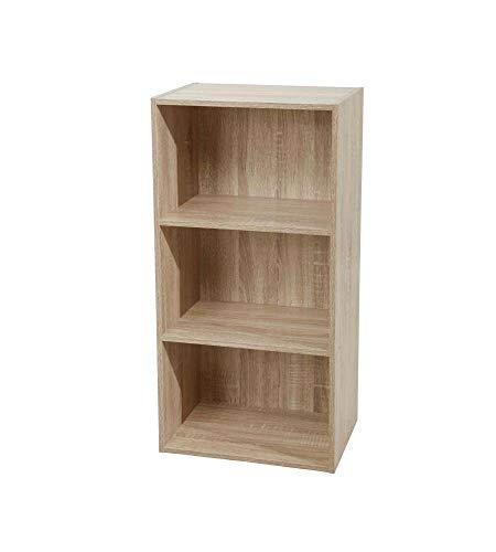libreria 3 ripiani Libreria 3 ripiani 40 x 29 x 80 h cm naturale