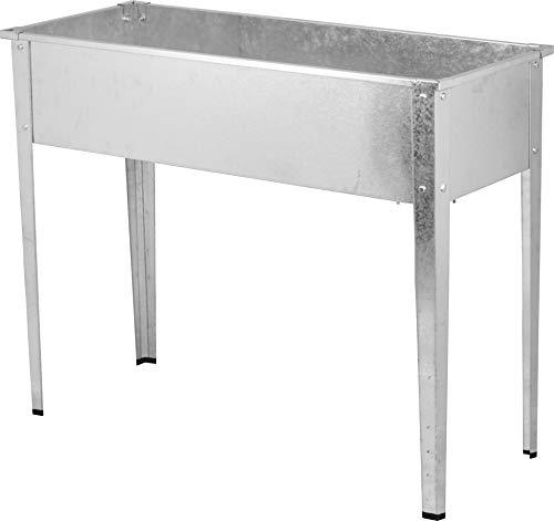 Güde 94773 Hochbeet GHB 80 V (Korpus aus verzinktem Stahl, Ablauföffnung für überschüssiges Wasser, 77 l Füllvolumen)