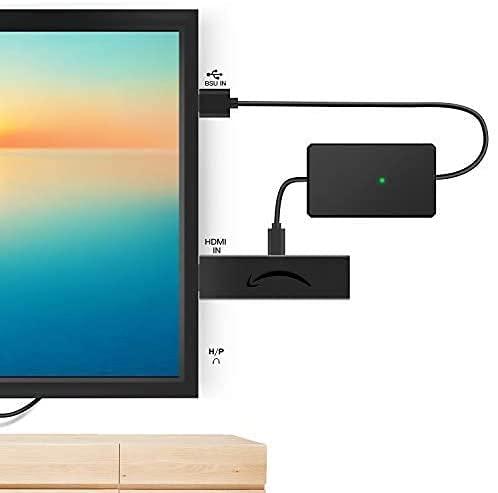 Cavo di alimentazione USB per accessori Fire Stick (nessun alimentatore richiesto), compatibile con Fire Stick, Fire Stick 4K, Fire Stick 4K Ultra HD, anche porte USB a basso consumo (300 mA)