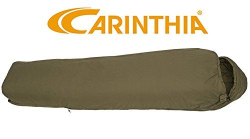 Carinthia Tropen Militaire Zomer-Slaapzak Tactisch Compact en ultralicht met muggengaas, Olijf