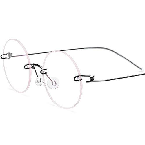 Brilmontuur voor bijziendheid zonder frame en zonder schroeven.