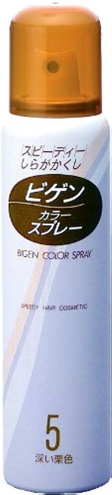 ホイッスル昇進蒸留ホーユー ビゲン カラースプレー 5 (深い栗色) 82g(125mL)