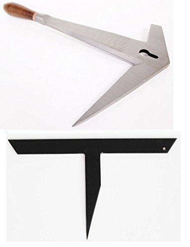 myMAW Schieferhammer rechts Bundle mit Haubrücke gerade Hammer Schiefer Dachdecker