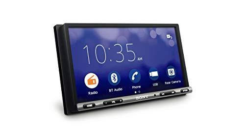 Sony XAV-3500 - Reproductor para Coche (WebLink, Bluetooth y NFC, Pantalla táctil de 7' antirreflejo, Compatible con Android/iOS y apps como Waze o Youtube, Potencia de 55W x 4)