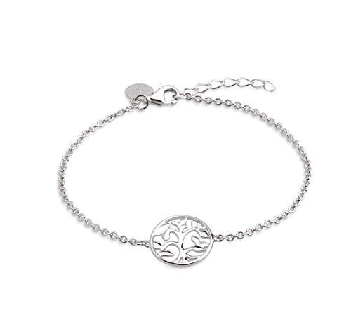 XENOX XS2897 Damen Armband Lebensbaum Symbolic Power Sterling-Silber 925 Silber 20 cm