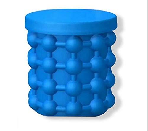 ACOMG Cubo de Hielo de Silicona, moldes de Silicona con Tapa...
