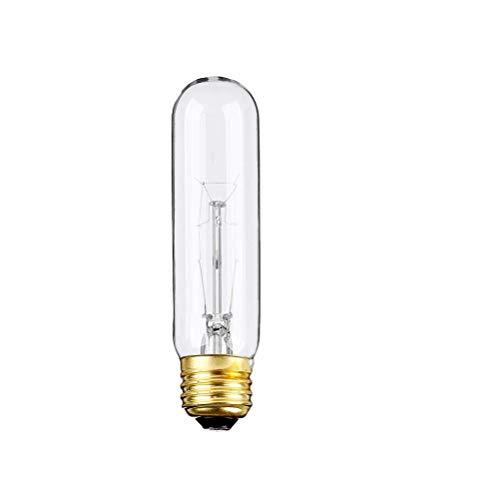 (Pack Of 6) 25-Watt T10 Tubular Clear Incandescent Medium Base (E26) 120-Volt Light Bulb