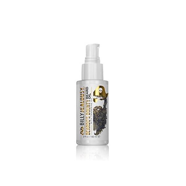 Billy Jealousy Moisturizing Strengthening & Softening Everyday Beard & Stache Oil, Beardo's Bounty, 2 Oz. 1