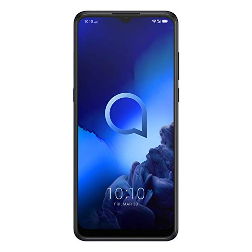 "Alcatel 3X 2019, 6.52"" HD+, tripla fotocamera, 64 GB ROM + 4 GB RAM, Octa-Core, Jewelry Black [versione Italia]"