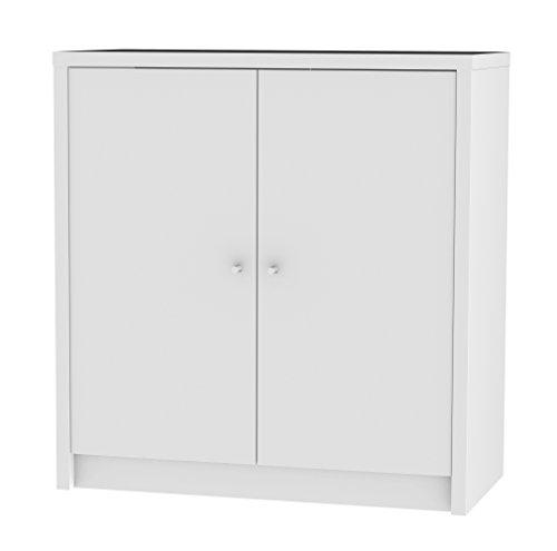 Tenzo Box kast, spaanplaat, wit, 35 x 73 x 77 cm
