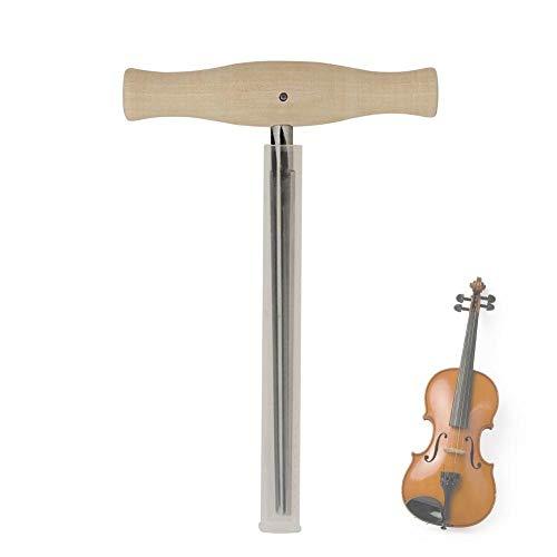 cypressen Violin Peg - Rallador con Mango de Madera