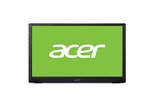 Acer PM (PM161Qbu) 40 cm (15,6 inch) IPS Portable Monitor Matt (USB 3.1 Type C, FHD 1920x1080, 60Hz, 220 Nits)