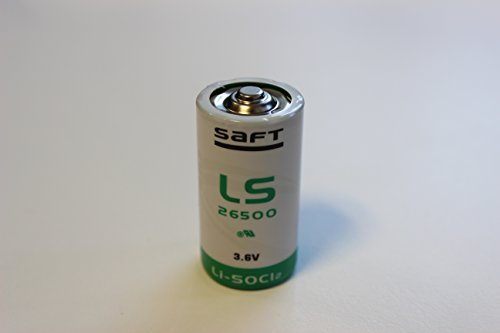 Best Price Square Battery, 3.6V 7.7AH C Lithium LS26500 by SAFT