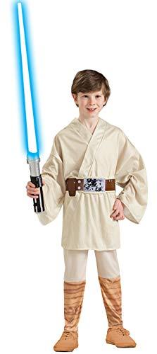 Luke Skywalker Kostüm Kinder Gr. 116-146, Größe:S