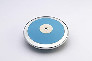 JNMM Consulting 1st Place Intermediate High School Boy's 1.6 kg Track Discus. Rated 180 feet. Excellent Grip. Extreme Durability. 2 Year Warranty 83% Rim Weight high Spin 1.6 Kilo Track Discus