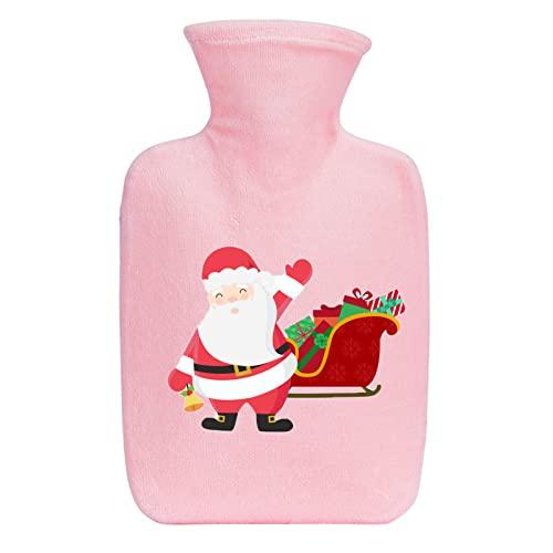 Un Termo de Navidad de Dibujos Animados para aliviar el Dolor de Espalda, Cuello y Hombros, as í como la dismenorrea Femenina, es un Gran Mujeres-Pink