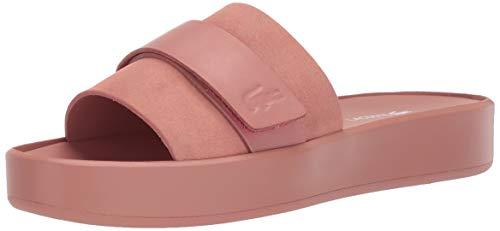 Lacoste Women's PIRLE Sandal, Pink/Pink, 6 Medium US
