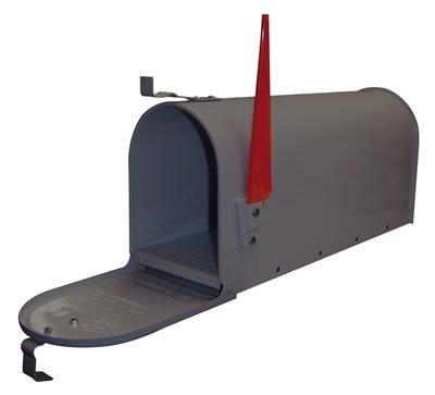 American Mailbox - U.S. Mail - Briefkasten Stahl Anthrazit mit Mailboxständer
