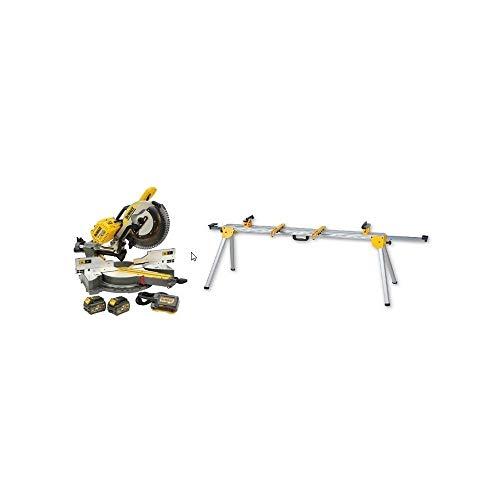 DeWalt CPROF465 CPROF465-KIT = DHS780T2A bateria 54V FLEXVOLT + DE7023 Banco para ingletadoras