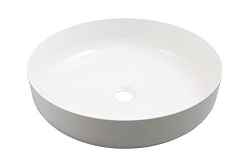 Alape Aufsatzbecken AB.SO450 kreisförmig weiß, 3503000000