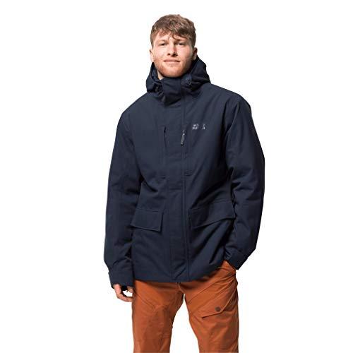 Jack Wolfskin Herren West Coast Jacket Wetterschutzjacke, night blue, L