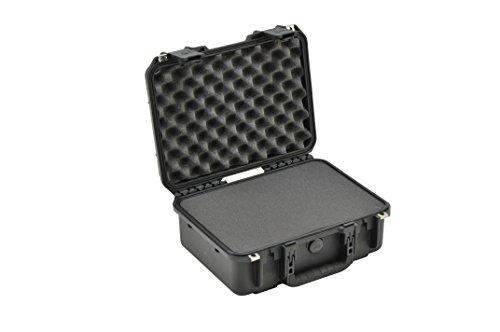 SKB 3I-1510-6B-C - Estuche para equipo de DJ, 38,1 x 26,4 x 15,2 cm (resistente al agua), color negro