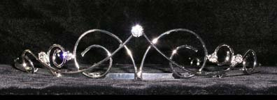 #15259 - Celtic Wire Wire Tiaras