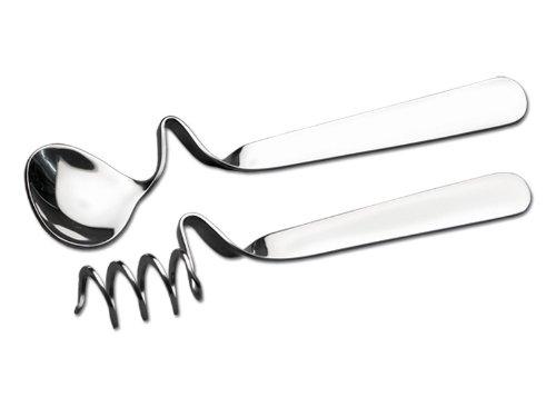 CHG 9593-00 - Juego de cucharillas para Miel y Mermelada (2 Piezas de 13,5 cm y 14,0 cm)