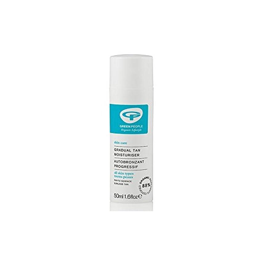 選択する化粧バイパスGreen People Gradual Tan Face Moisturiser (50ml) - 緑の人緩やかな日焼け顔の保湿剤(50ミリリットル) [並行輸入品]