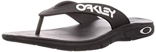 Oakley FOF100093-10 Lightweight Ultimate Comfort B1B Summer Flip Flop Sandals, Men's Size 10, Black