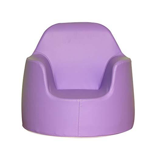 Enfants Canapé De Meubles, Garçon Fille Fauteuil en Mousse, Salon Mini Jouet 4 Couleurs 50×50×48cm Sofa (Color : Purple)