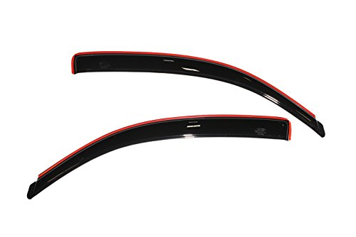 Auto Ventshade 192706 In-Channel Ventvisor Side Window Deflector, 2-Piece Set for 2005-2015 Toyota Tacoma Access Cab