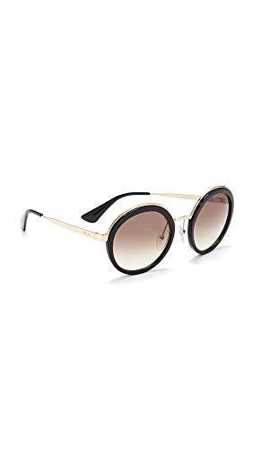 Prada Damen 0Pr50Ts 1Ab0A7 54 Sonnenbrille, Schwarz (Black/Gradient)