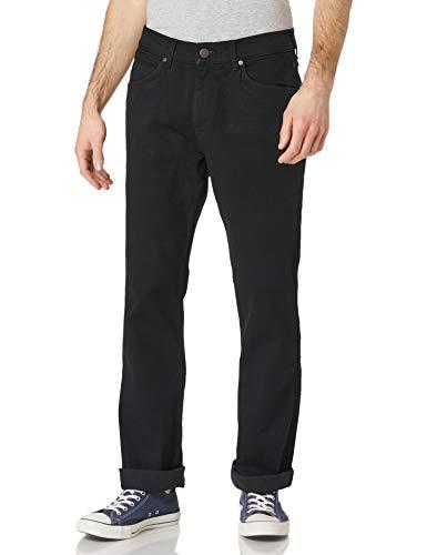 Wrangler Bootcut Jeans, Noir, 31W x 32L Homme