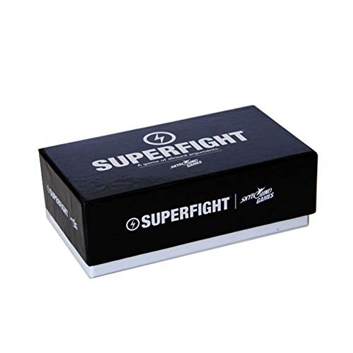 GWLTV Board Game Card SuperFight Super War Basic Edition Anti-Human Card Brain Damage Card Super War Card