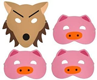 Three Little Pigs - Story Telling Play Masks