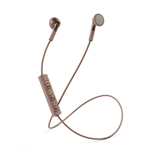 Mixx Audio | Classic Fit Bluetooth Wireless Stereo Earphones - Rose...
