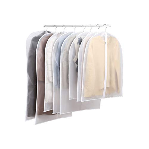 Carrey 3 Pieces Premium Garment Bag Suit Case Clothes And Shirts, Protection Against Moth Long Term Storage Of Jacket , Coat Clothes Suit Protection From Dust Moth Damage.