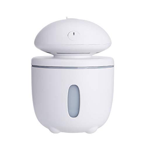 Sencillo Vida Purificador de Aire Ultrasónico con Luz de Noche Humidificador Aromaterapia Difusor de Aceites Esenciales Difusores de Aroma para Yoga SPA Hogar Oficina Habitación Dormitorio y Baño