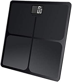 Precision Digital Body Weight Bathroom Scale with Backlit Display, Step-On Technology, 400 lbs Capacity and Accurate Weigh...