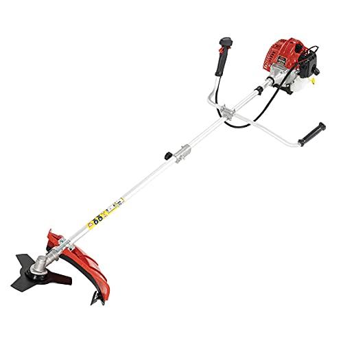 Gardentec - Freischneider Benzin mit 3-Zahn-Messer - Trimmer mit 2-Takt-Motor - 52cc