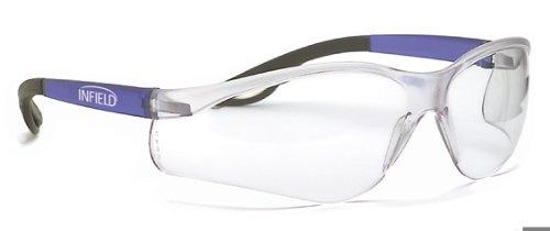 Infield 9062 105 Raptor Sicherheitsbrille, klare Gläser