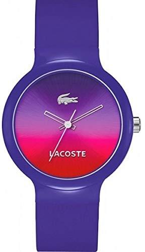 Lacoste Reloj analogico para Mujer de Cuarzo con Correa en Silicona 2020079