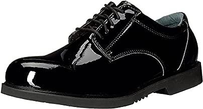 Thorogood Men's 831-6031 Uniform Classics - Poromeric Oxford Shoe, Black - 9 W US
