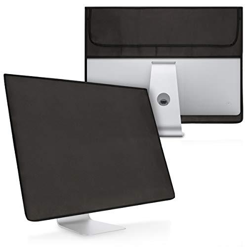 kwmobile Funda Compatible con Apple iMac 21.5' - Case 4 en 1 para Monitor Teclado Mouse Accesorios Gris Oscuro