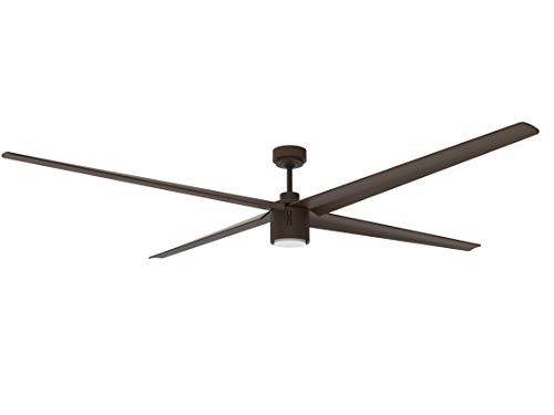 Big Air Industrial Ceiling Fan, 6-Speed Indoor/Outdoor Fan with Light (84-Inch Industrial Ceiling Fan)