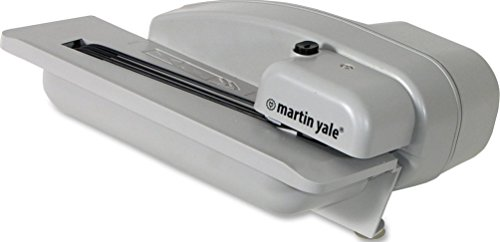 Martin Yale 1628 Desktop Letter Opener, Operates at a speed of up to 3,000 envelopes per hour, 10,000 capacity, 3/32