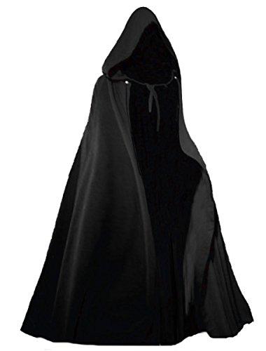 - Capes Erwachsene Schwarz Samt Kostüme