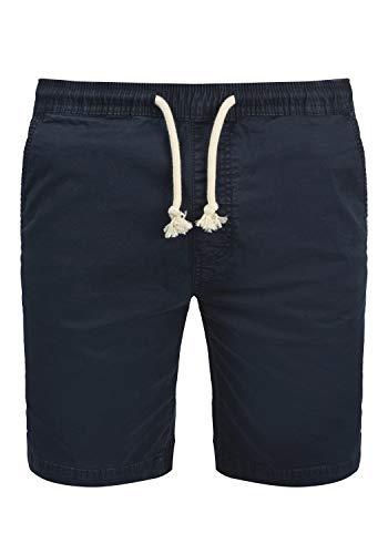 Indicode Abbey Herren Chino Shorts Bermuda Kurze Hose Aus Stretch-Material Regular Fit, Größe:M, Farbe:Navy (400)