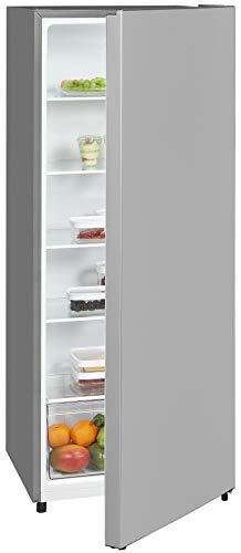 Exquisit Kühlschrank KS320-V-010E silber   Standgerät   242 l Volumen   Silber